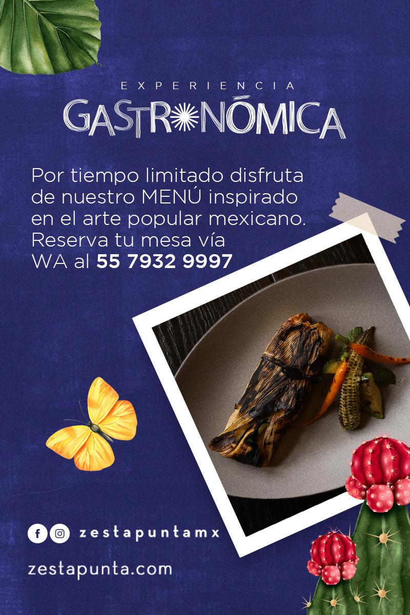 Disfruta después de Frida, nuestra Experiencia Gastronómica en Zesta Putna Restaurante Bar